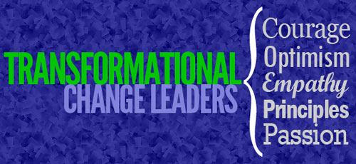 traits of transformational change leaders