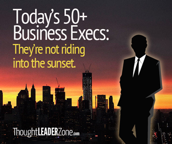 over 50 business execs not going into the sunset career opportunities