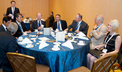 GWI breakfast water leadership at singapore international water week 2012