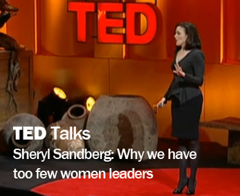 TED talks sheryl sandberg on women leaders