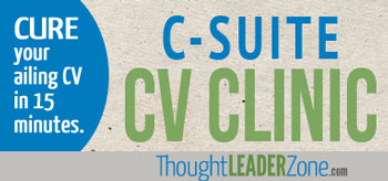 CV clinic for executives 25-29 February 2013