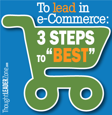 3 steps to lead in e-commerce