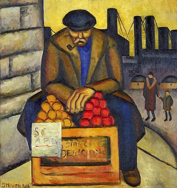competitor intelligence Apple Vendor by Stevenson 1934